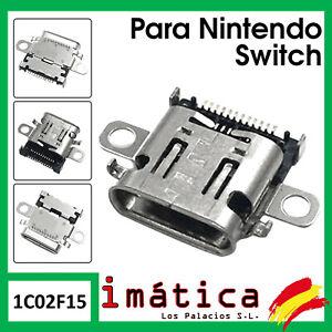 CONECTOR DE CARGA PARA NINTENDO SWITCH PUERTO USB C CORRIENTE DC FLEX NS CLAVIJA