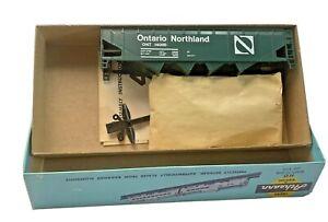 HO Vintage Athearn Bev Bel Ontario Northland Hopper Kit in Original Box Green