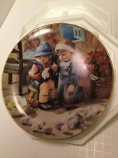 "M. J. Hummel Little Companions ""Tender Loving Care"" Plate"