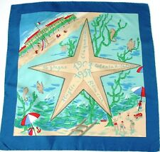Colonia comasca Rimini Années 50 foulard de soie-cinquantenaria / 50ème-Medium