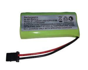AAA sans Fil Téléphone Batterie 800mAh 2.4V Nimh BT-1011 BT-1008 BT-1016 BT1021