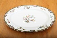 Noritake Pheasant Oval Serving Platter Plate Dish Made In Japan Vintage
