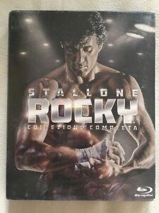 STALLONE ROCKY Collezione completa(6 Blu-Ray Disc) COFANETTO ORIGINALE SIGILLATO