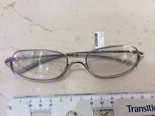 Prada Vpr 59B 56-17 Eyeglasses View Vintage New Silver Matt Made in Italy