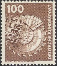 Germany 1975 Industry/Technology/Coal Excavator/Mining/Minerals 1v (n29148j)