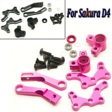 Metal Adjustable Steering System Kit for Racing Sakura D4 CS AWD RWD Drift Car