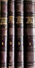 VITO FORNARI LEZIONI DELL'ARTE DEL DIRE GIUSEPPE MARGHIERI 1872 4 VOLUMI
