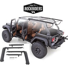 2007-17 Jeep Wrangler Unlimited Soft Top OE Style Bow & Door Surrounds