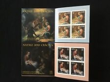 Timbres Poste Neufs Vatican 2 carnets Noël 2010 Emission Conjointe avec Roumanie