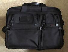 TUMI Alpha 2 T-Pass Medium Capacity Laptop Brief ~ 26145 D2 *Ret:.$475 $AVE $$$$