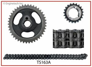 Enginetech Timing Set 3pc Ford 289 302 347 351W Double Roller Set