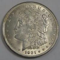 1921-P U.S. Morgan Silver 1 Oz. Fine Silver Dollar.