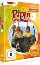 PIPPI LANGSTRUMPF, Spielfilm-Komplettbox (4 DVDs, Digipack) NEU+OVP