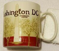 Starbucks Washington D. C. Global Icon City Monument Coffee Cup Mug 16 oz.