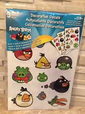 ANGRY BIRDS DECORATIVE DECALS WALL STICKERS 36 PC