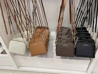 NWT MICHAEL KORS CINDY MD DOME LEATHER CROSSBODY BAG MULTI COLOR