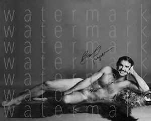 Burt Reynolds sexy hot signed 8x10 inch print photo picture poster autograph RP