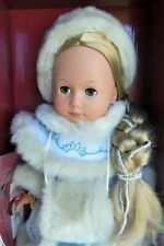 "Gotz 12"" WINTER Hard Body, Vinyl Doll w/ Long Blonde Hair MIB"