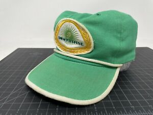 Vintage Pinehurst Golf Hat Strapback Green Rope Patch US Open