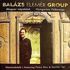 Balazs Elemer Group 'Hungarian Folksongs' audio CD RARE IMPORT