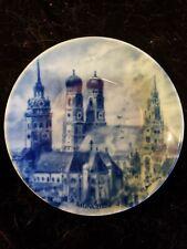 Porcelain Royal Collectible Munchen plate