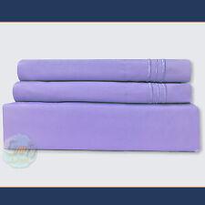 4 Piece Bed Sheet Set Deep Pocket Egyptian Comfort Ultimate 1800 Count