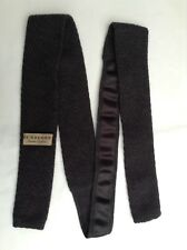 31c219cecdc3 NWOT BURBERRY PRORSUM Pure Wool Skinny Knitted Tie M. I. Italy