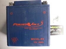 MG30L-BS Sealed Gel Battery replaces MBTX30U PC925L UIX30L PC925LMJ B3121