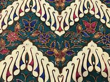 Striking Vintage Multi-color Batik Fabric, Wall Hanging or Tablecloth (RF739)