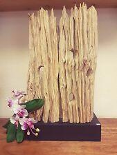 XL Lámpara de pie madera combustible Driftwood Shabby Vintage teca CASA CAMPO