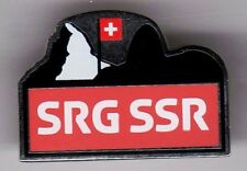 RIO 2016. OLYMPIC GAMES. MEDIA PIN. SWISS BROADCASTING CORPORATION (SRG SSR)