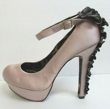 Betsey Johnson Size 8.5 Blush Heels New Womens Shoes