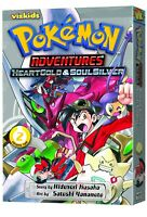 Pokemon Adventures Heart Gold & Soul Silver 2 Manga GN Hidenori Kusaka New Mint