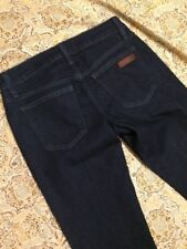 Joes Jeans Women's Designer Blue Jeans Size 28 Curvy Boot Cut Dark Denim Western