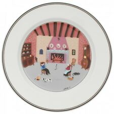 Villeroy & and Boch DESIGN NAIF LAPLAU No6 NEW salad/dessert plate 21cm Fireside