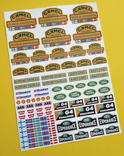 RC Rock Crawler 'CAMEL TROPHY TEAM SCANDINAVIA' 10th scale stickers decals RC4WD