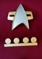 Star Trek Communicator Pin Combadge Rank Pip Insignia Badge SECTION 31 DS9 TNG