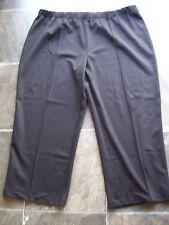 Women's Plus Size Black Polyester Knit Dress Pants Size 22 VGUC