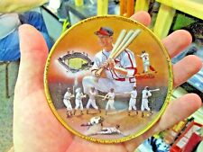 """Stan Musial St. Louis Cardinals """"Stan The Man"""" 4"""" Sports Impressions plate"""