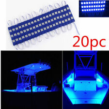 Blue Trunk Bed Rear Work Box LED Light Module For Chevy Dodge Pickup Trucks 20PC