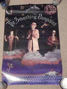 Smashing Pumpkins RARE 1996 Tonight promotional poster ROLLED