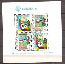 Portugal - 1981 - Mi. Blok 32 (CEPT ) - Gestempeld - NI103