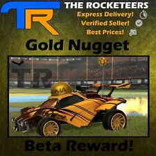 [PC] Gold Nugget Limited Antenna Reward Rocket League Nugget