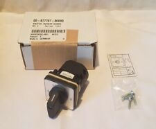 Hobart Switch, Rotary, Humid for Deli Display Case Qty 1 Nos Oem 00-877707-00093