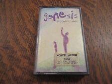 cassette audio GENESIS we can't dance
