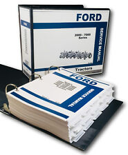 FORD 2000 3000 4000 5000 7000 SERIES TRACTOR SERVICE REPAIR MANUAL SHOP BOOK OVH