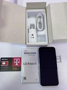 LG Aristo 5 (LMK300TMS) - 32GB - Silver - T-Mobile - Brand New