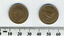 GREAT BRITAIN 1945 -  1 Farthing  Bronze Coin - King George VI - WWII mintage