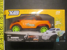 Radio Control RC Truck MonZoo Battery Powered 49 MHZ Orange Color