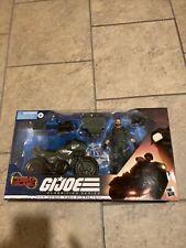 G.I. Joe Classified Series Alvin ?Breaker? Kibbey With Ram Cycle NIB In Hand.